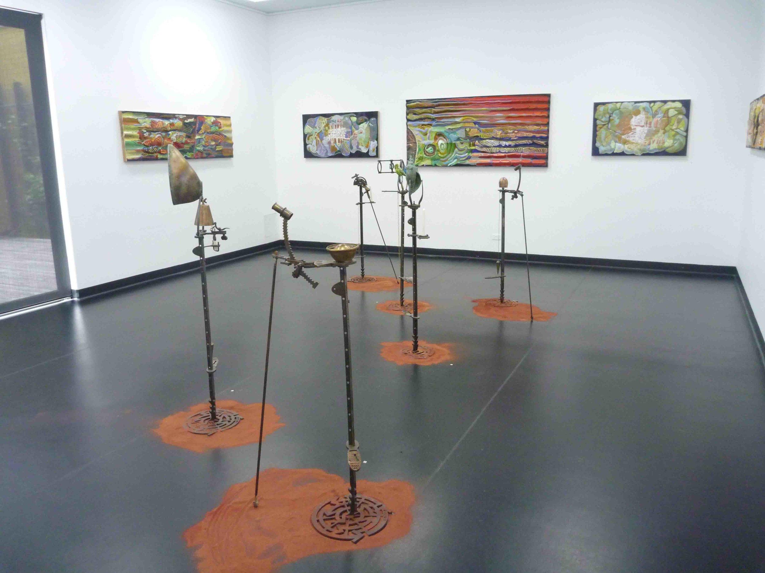 'The Maps of Leichhardt' exhibition VAC Bendigo 2010