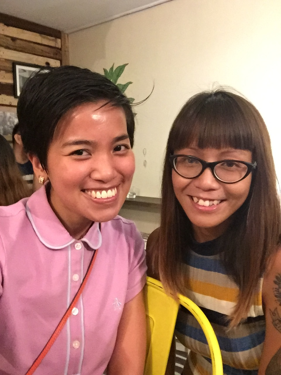 With Camille Pilar (who rode a bus from La Union just to talk about snail mail!)✨