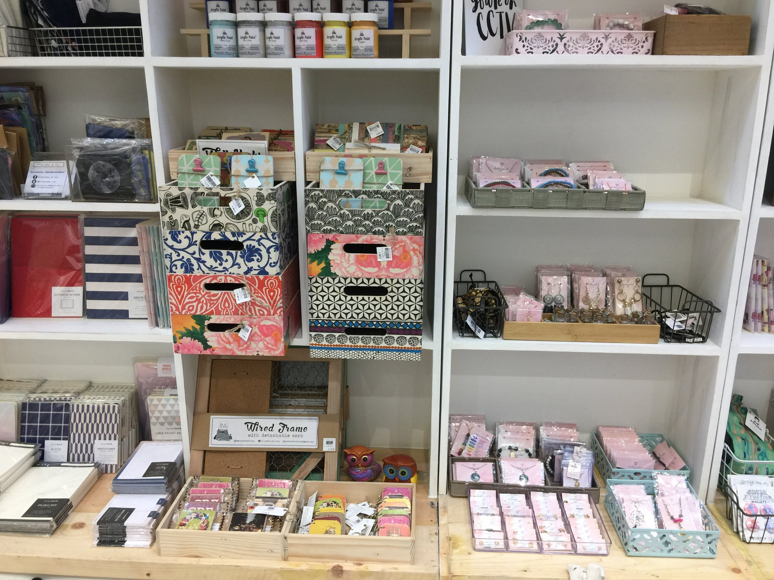 Check out these cute local and handmade stuff at  The Craft Central !