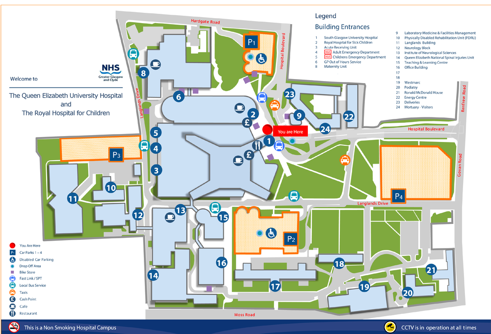 Queen Elizabeth University Hospital Critical Care Meetings and Courses