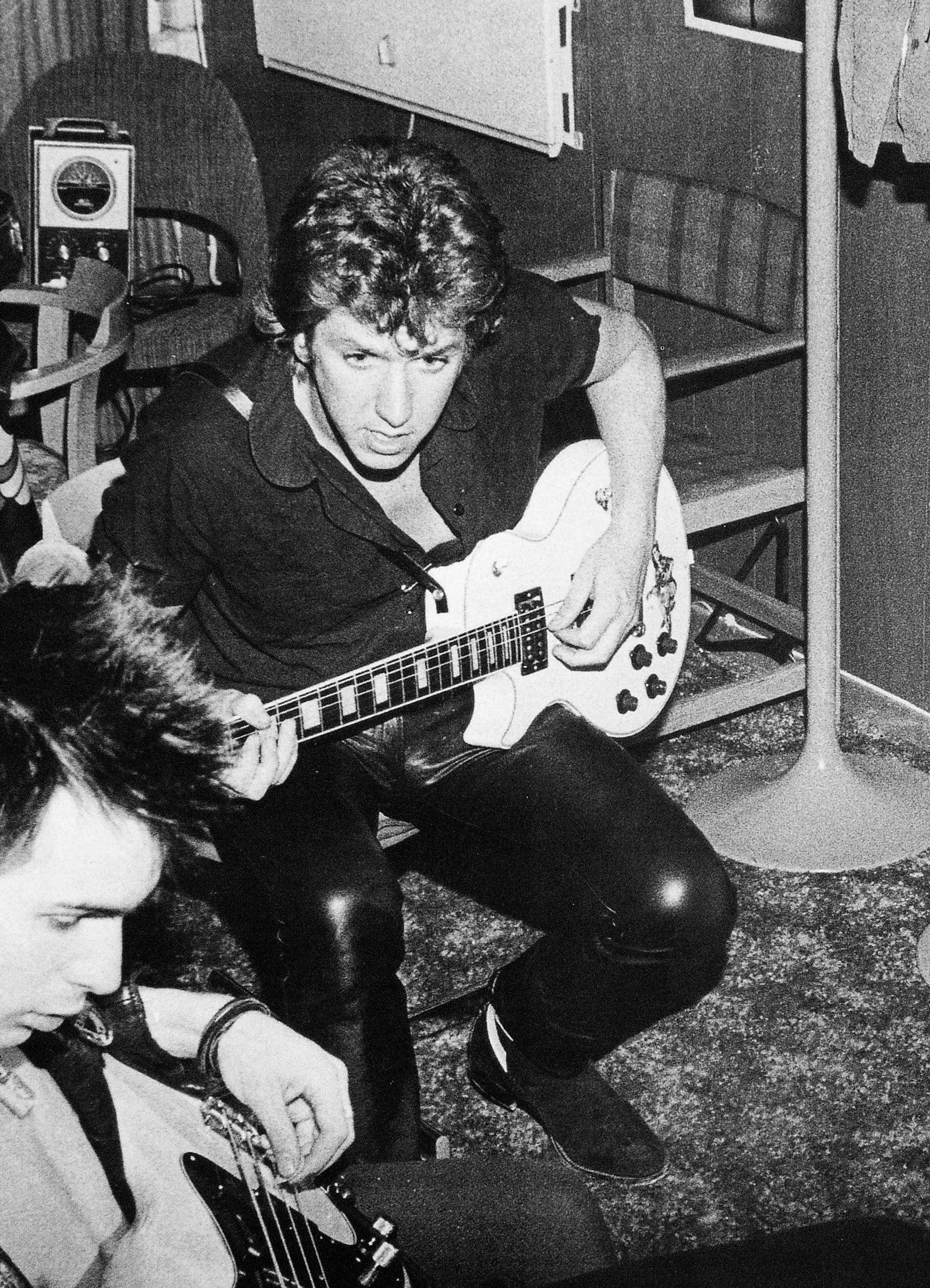Steve Jones of the The Sex Pistols