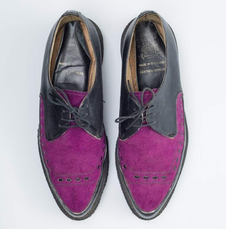 shoes by kind permission of Mr Duncan Murison
