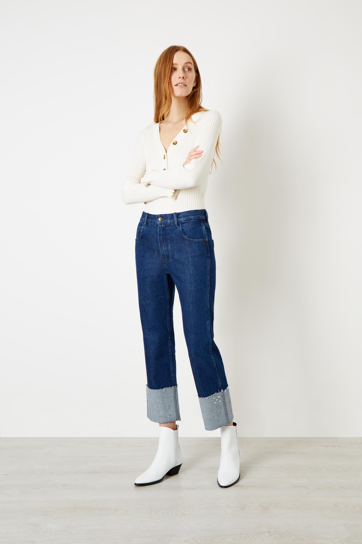 Henley Knit Jumper £175