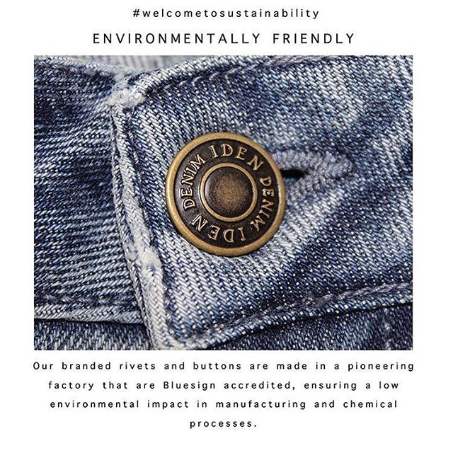 Welcome to sustainability #idendenim Shop our collection available online! #welcometosustainability