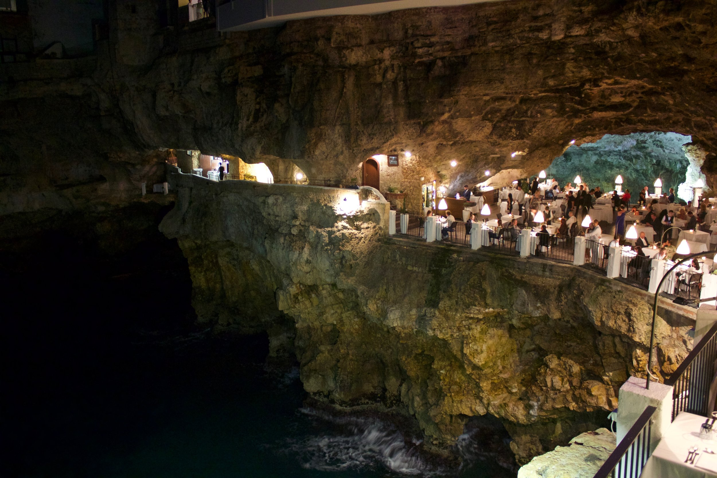 Ristorante Grotto Palazzese-Needless to say, it was stunning! Special date night with the hubby