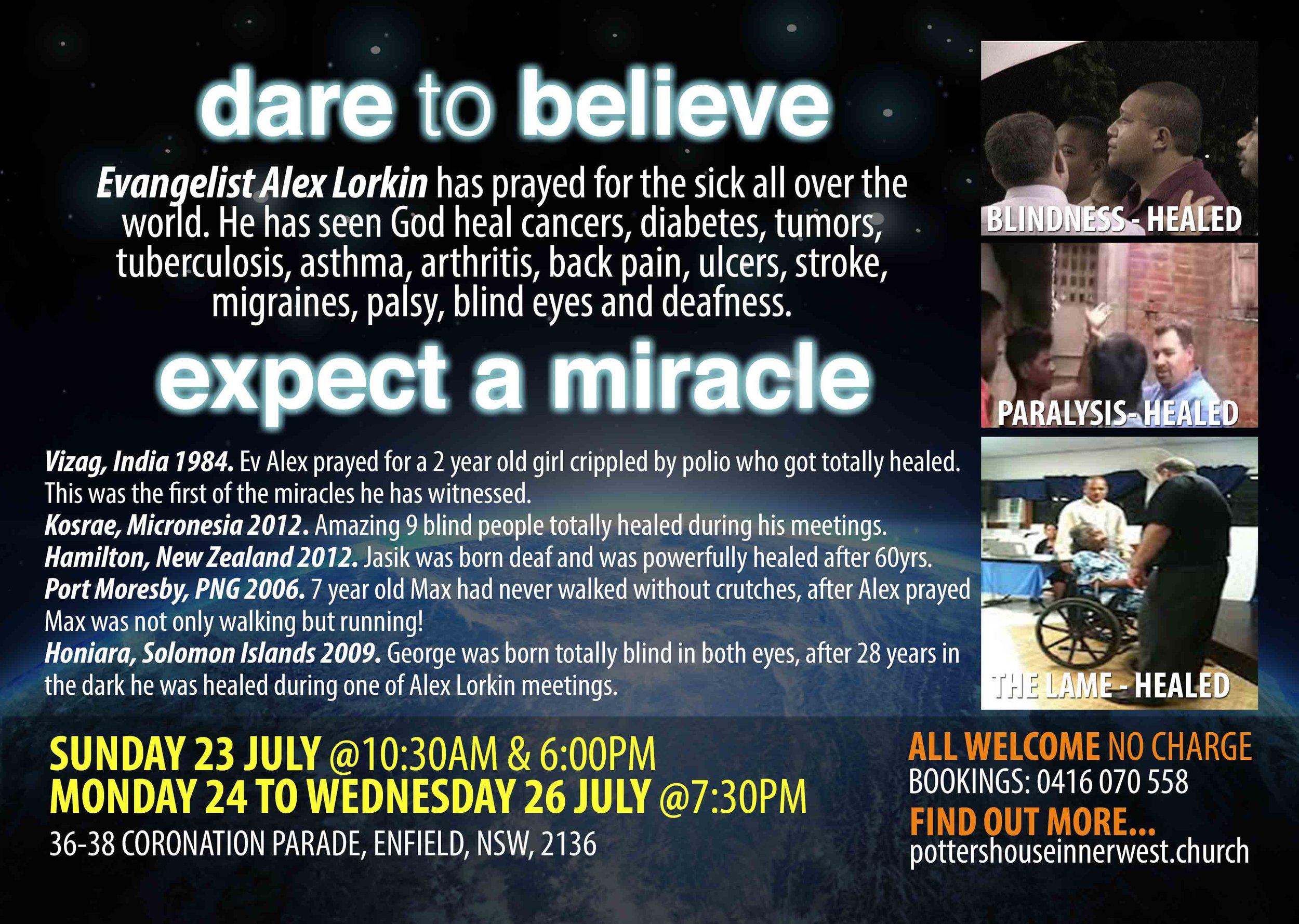 Pr Alex Lorkin Revival - July 2017