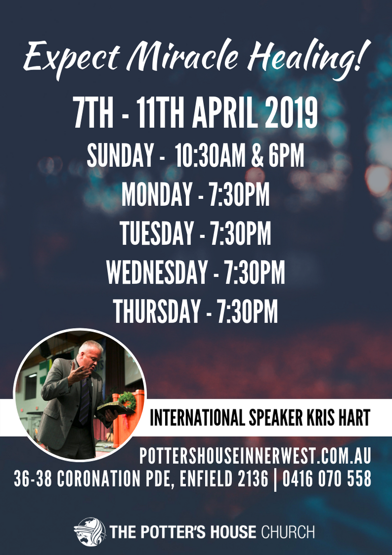 Pr Kris Hart Revival - April 2019