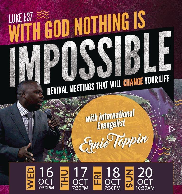 Revival 16-20 October 2019