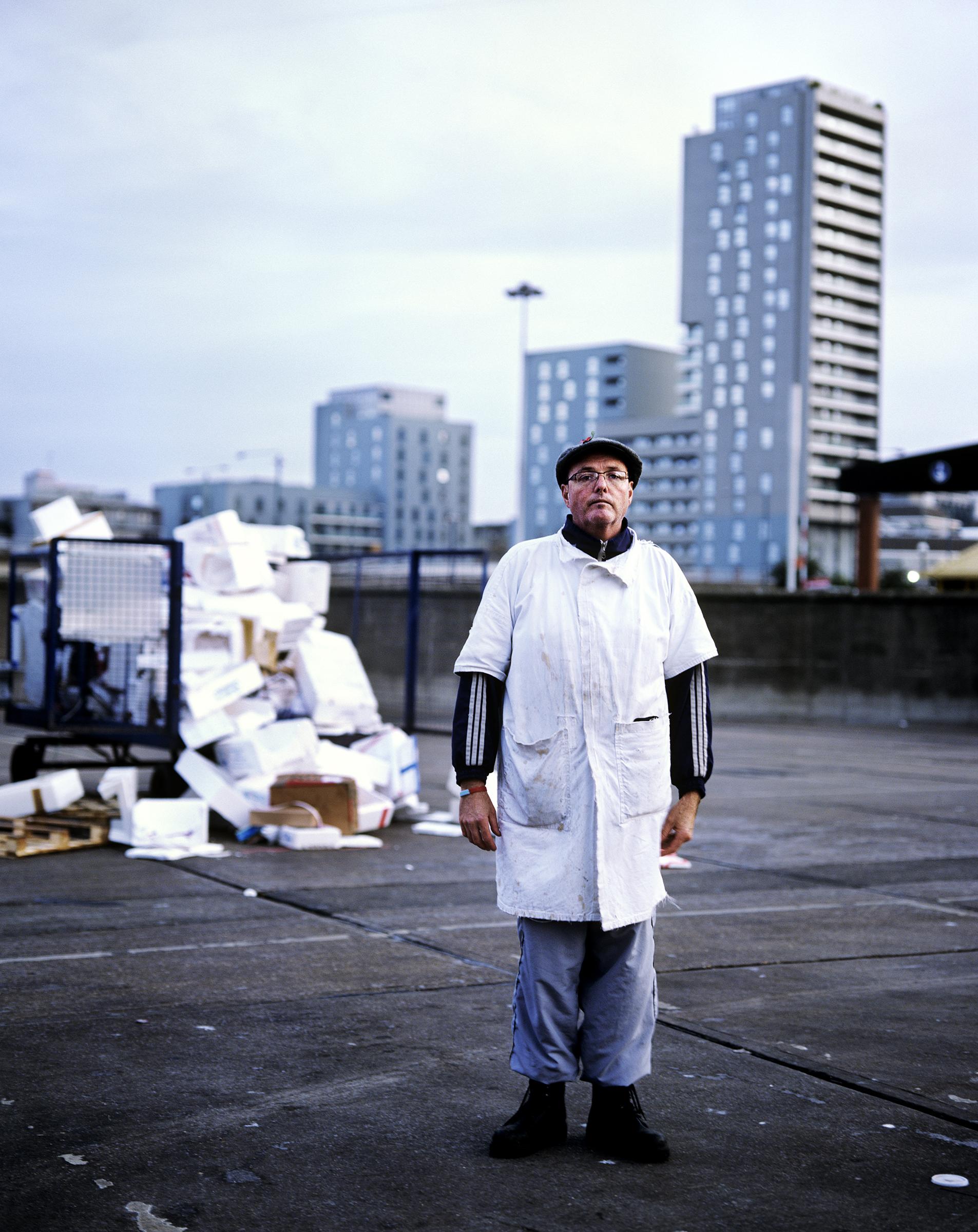 Nick Wilson, fish porter for 12 years.