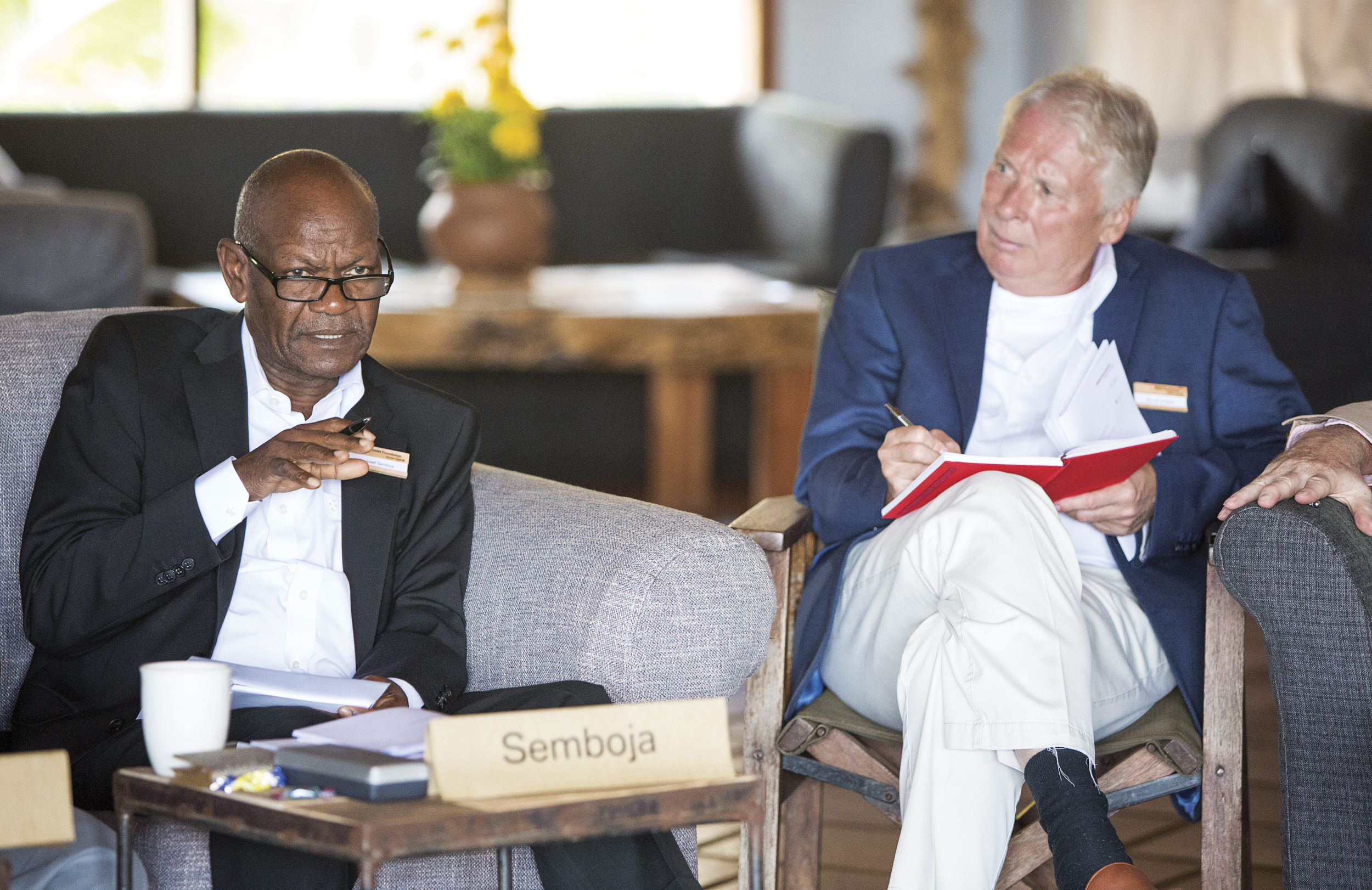 5th Global Table by the BMW-Foundation, Tanzania, 2015_Claudia Leisinger-4.jpg