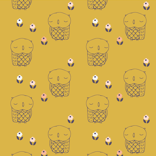AURA 1275 - Mustard Owl