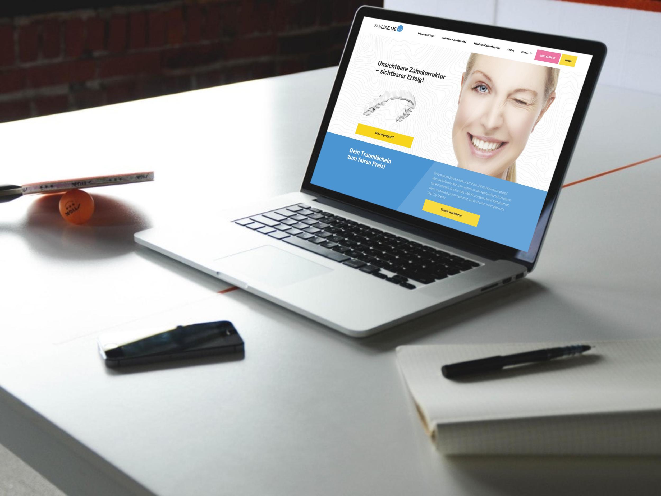 Aktuelles:Smilke.me - Für Smilike.me entwickelten wir eine neue Webseite und steuern bis heute erfolgreich sämtliche Paid Advertising Kanäle.