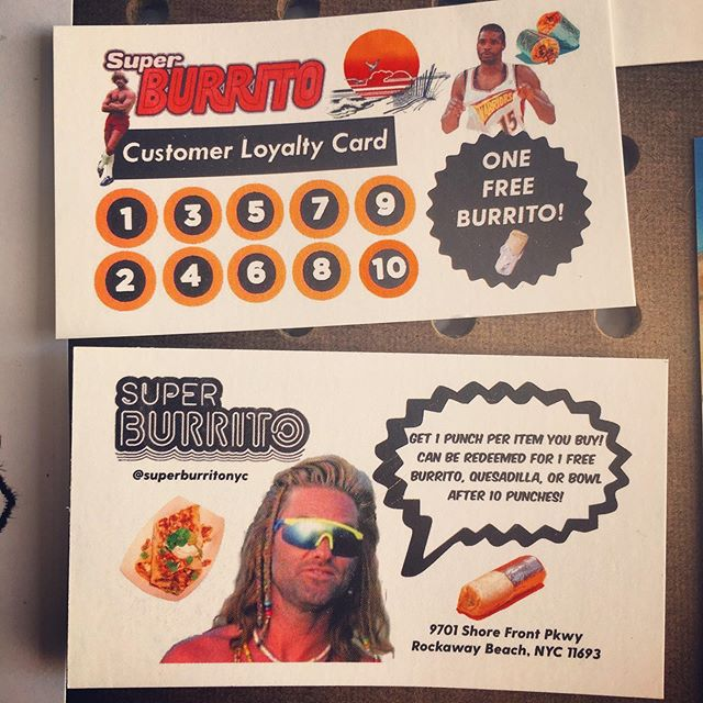 Do you have a customer loyalty card yet? 🌯🌯🌯