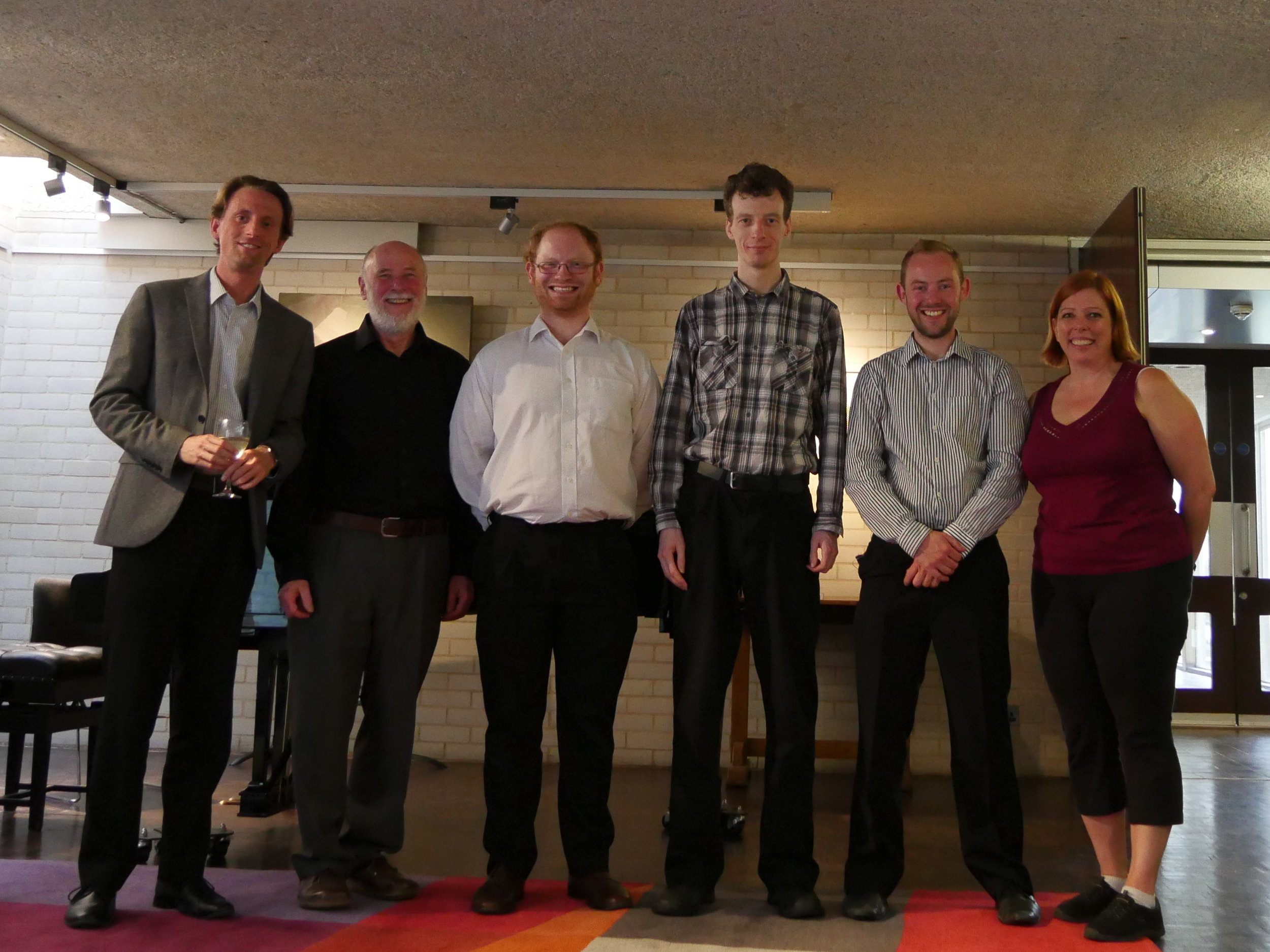 Lieder Corpus team: Mark Gotham, Dan Rootham, Bruno Bower, Peter Jonas, Will Bosworth, Leigh VanHandel