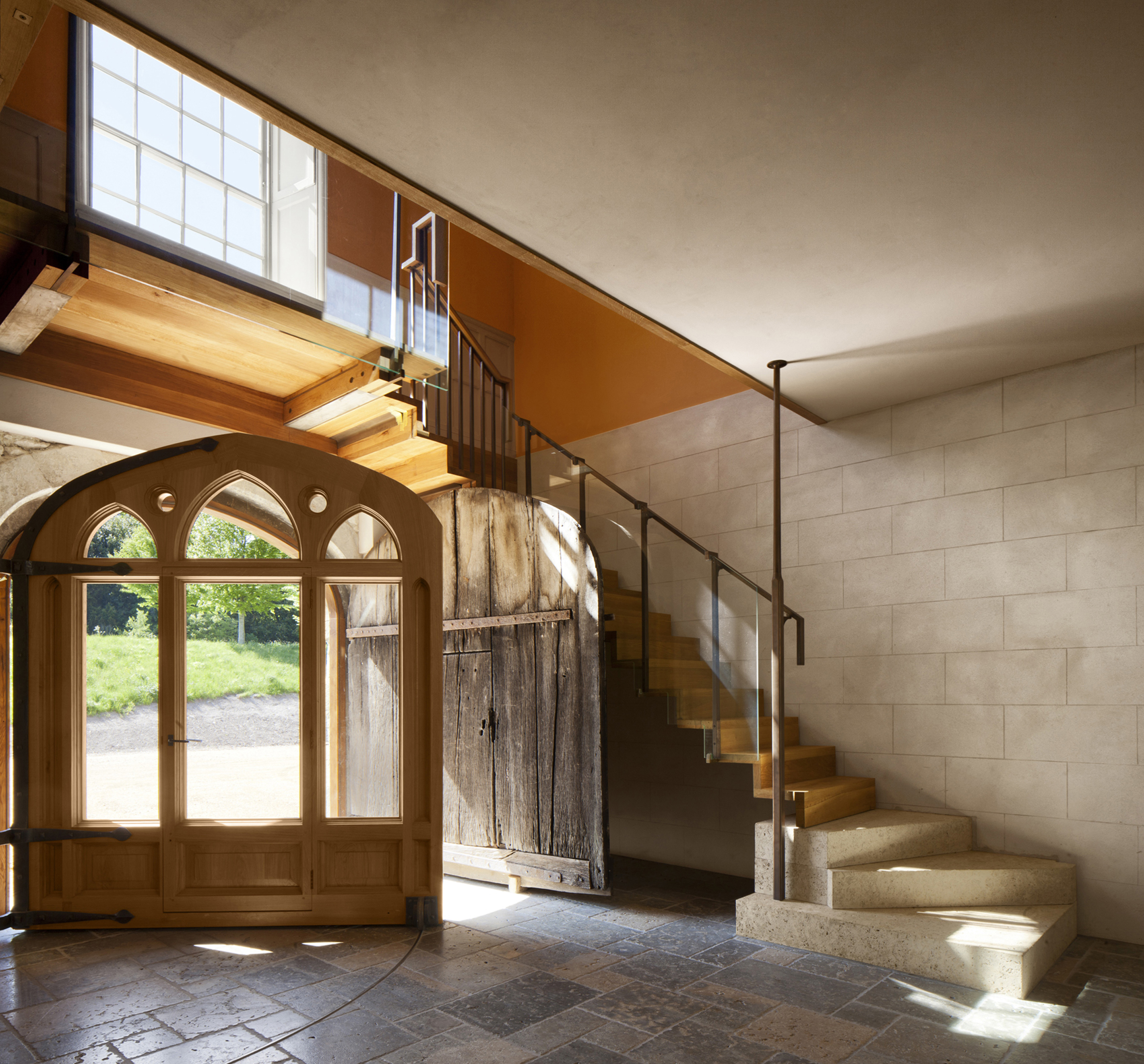 Glynde Place - Phase I - Finished Entrance Hall - Country Life Picture Library (Will Pryce).jpg