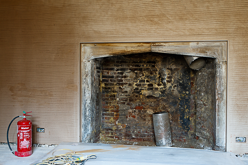 Glynde Place - Phase I - Restore fireplace (Carlotta Luke).jpg