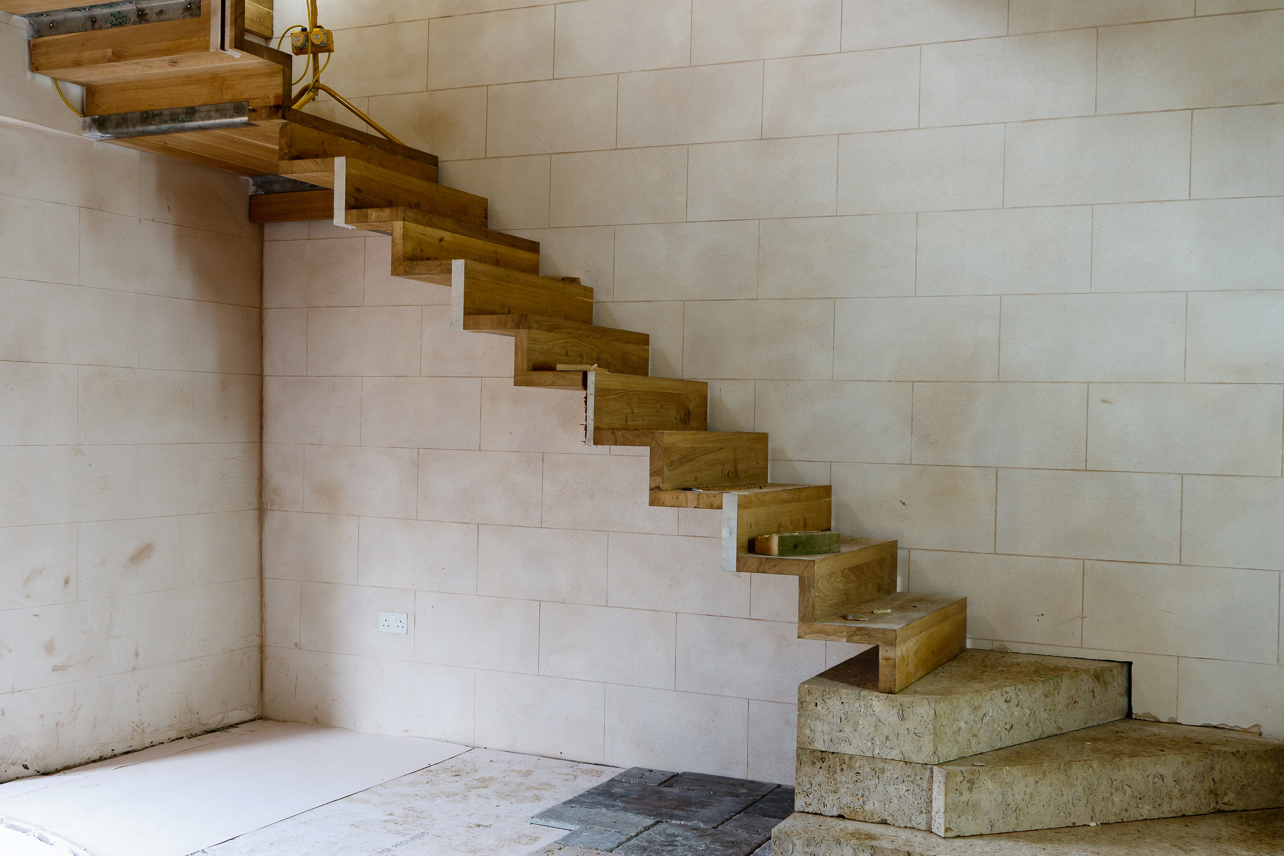 Glynde Place - Phase I - New staircase in Entrace Hall (Carlotta Luke).jpg