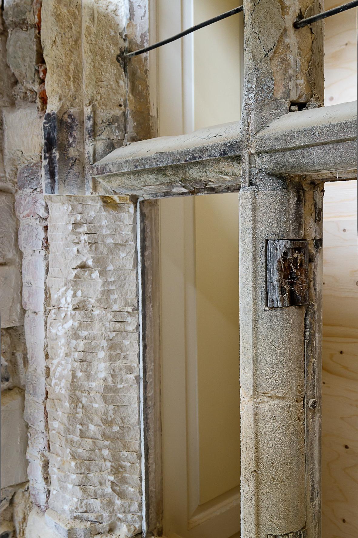 Glynde Place - Phase I - Window being restored (Carlotta Luke).jpg