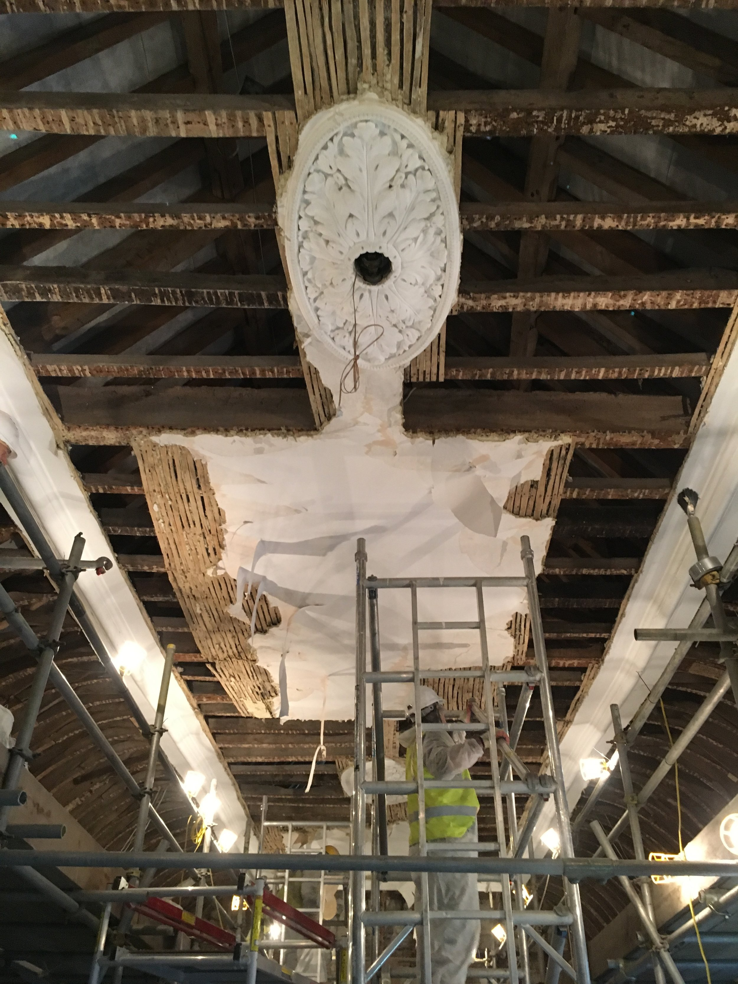 Glynde Place - Phase II - Gallery ceiling exposed.JPG