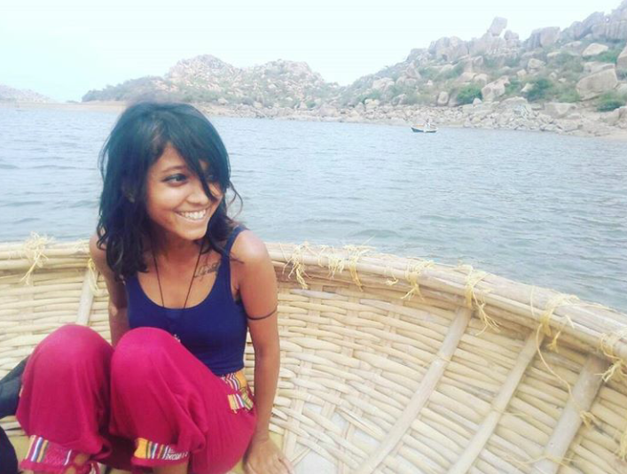 """""""You're just a piece of meat in their eyes. But none of this deters me from wanting to travel again,""""says Sahana determinedly, despite facing sexual violence multiple times on her trips."""