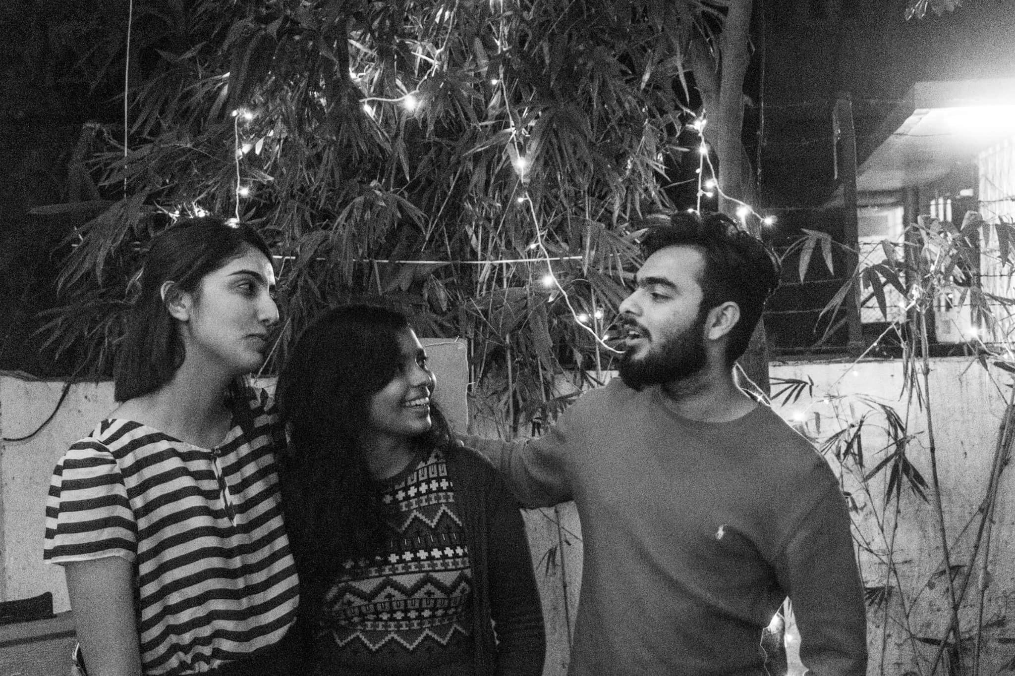 Team Povera, L-R: Priyal Thakkar, Darshita Jain & Aditya Mankad