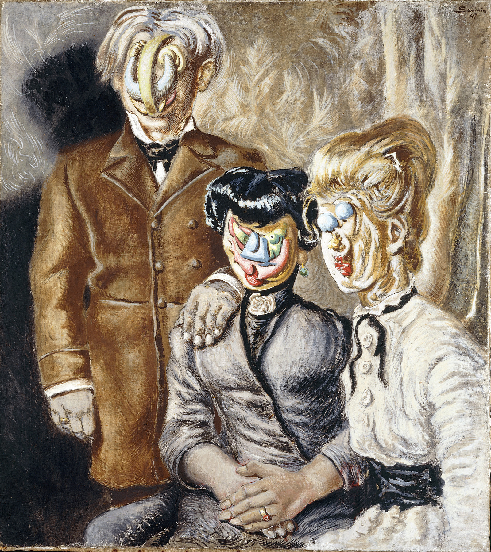 1947, 12, p.189, Una strana famiglia.jpg