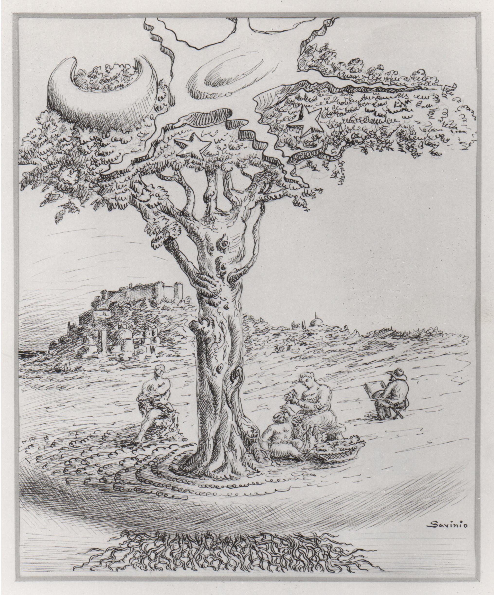 1941, 7, p.298, L'albero cosmico .jpg