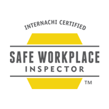 Safe Workplace Inspector - This certifies we know the proper safety protocols when performing an inspection.