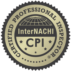Logo for Certified Professional Inspector CPI InterNACHI.