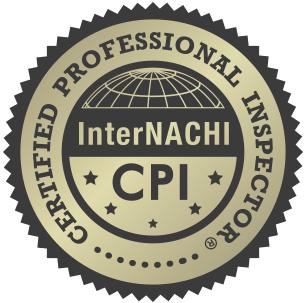 Logo for Certified Professional Inspector CPI InterNACHI.