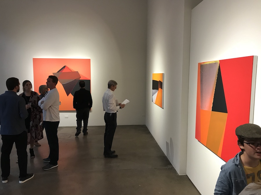 Installation view of Kate Petley's exhibition at  Robischon Gallery , 2018. Photo courtesy of the artist