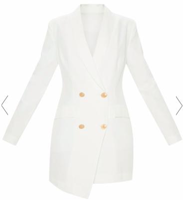 white blazer aryouserious