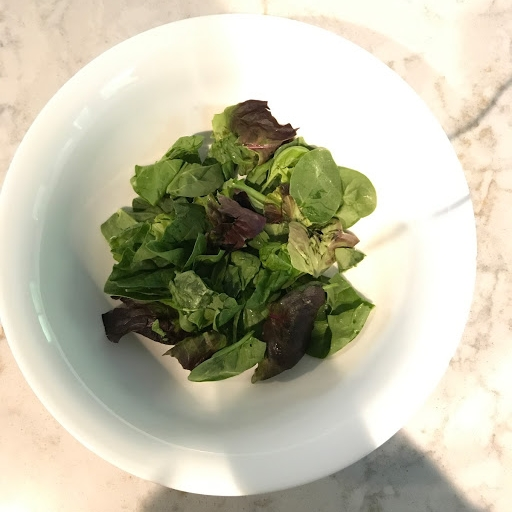 Pictured: Mixed greens