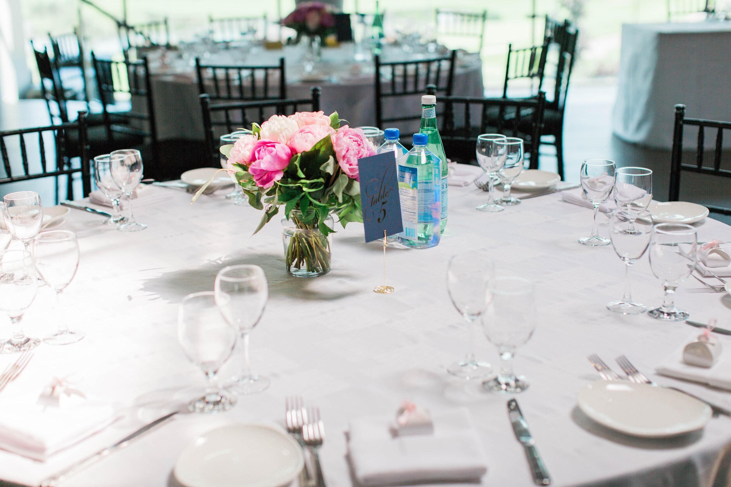 Brunch Wedding Reception Table - Trendy Modern Brunch Wedding - Historia Wedding and Event Planning