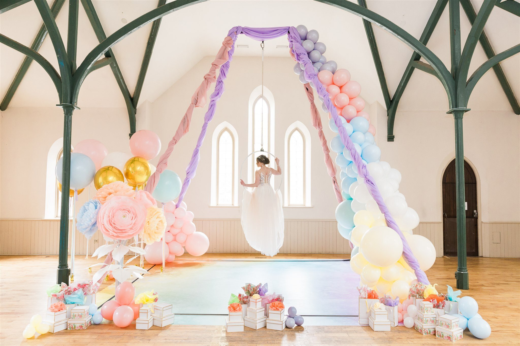 Love is in the Air: Inspirational Wedding Style Shoot - Historia Wedding and Event Planning
