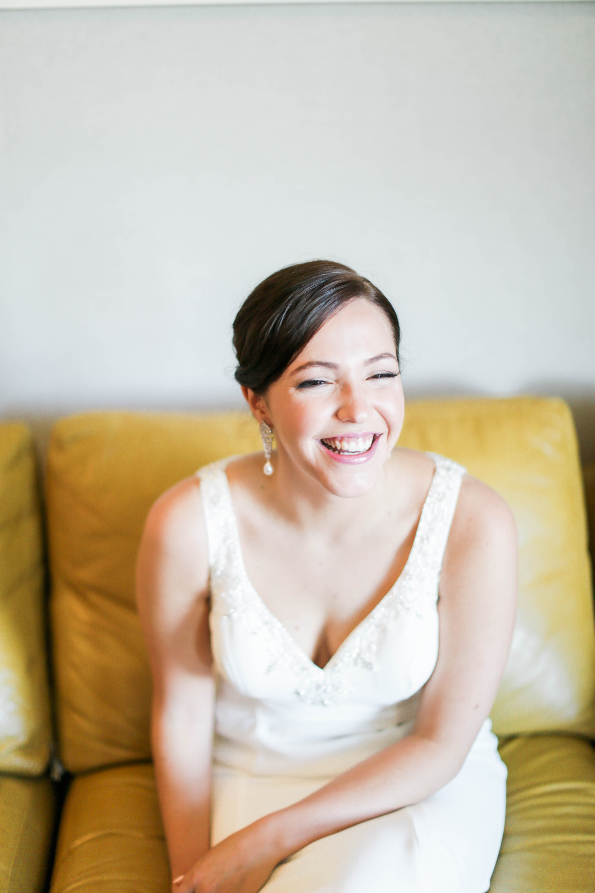 happy classic bride, photo by Hideaway Photography