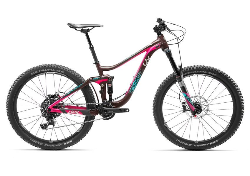 27.5 Wheels with 160mm of Travel. BUILT TO COME ALIVE AT HIGH SPEEDS FOR ENDURO-STYLE AND AGGRESSIVE RIDING — HAIL TAKES YOU TO A WHOLE NEW LEVEL.