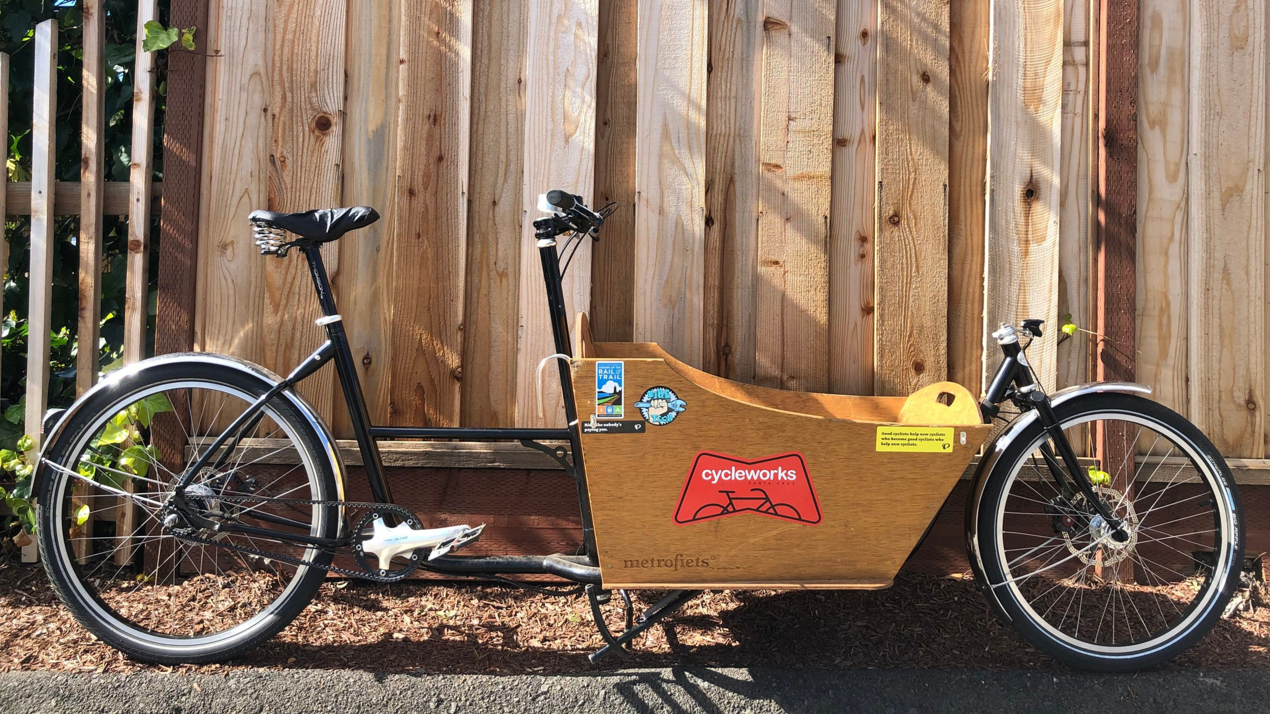 Metrofiets Cargo Bike - In it for the long haul!