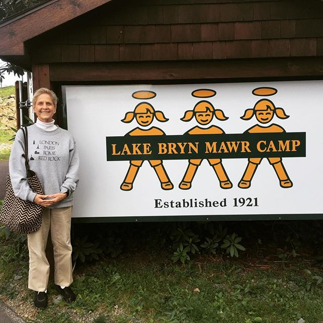 @Lake Bryn Mawr Camp founded by my grandparents. Kathy, Margaret & Jay remembering you too! #lakebrynmawrcamp #camping #camplife #poconos #nature #journey #rememberwhen #family #reunion #nostalgia