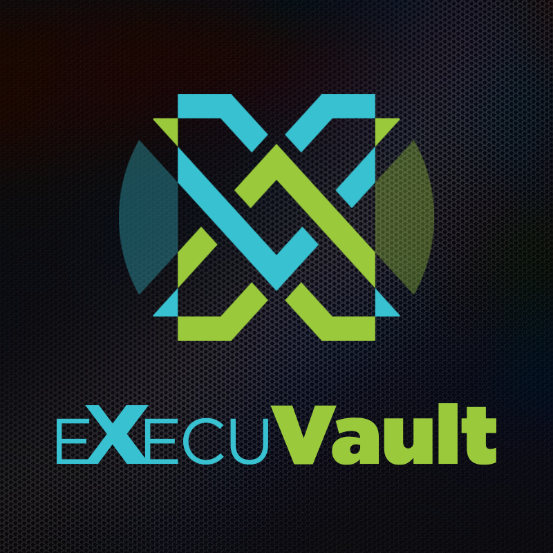 INITIATIVE —  TRANSFORMING THE LEGACY TRANSFER PROCESS   It's your legacy. You've earned it. Haven't you also earned the right to oversee its timely and stress-free distribution? To direct it safely into the hands of the loved ones you have worked so hard to protect?   execuvault —  BENEFICIARY FIRST  TRANSFORMING THE LEGACY TRANSFER PROCESS USING BLOCKCHAIN TECHNOLOGY   learn more at    execuvault.io