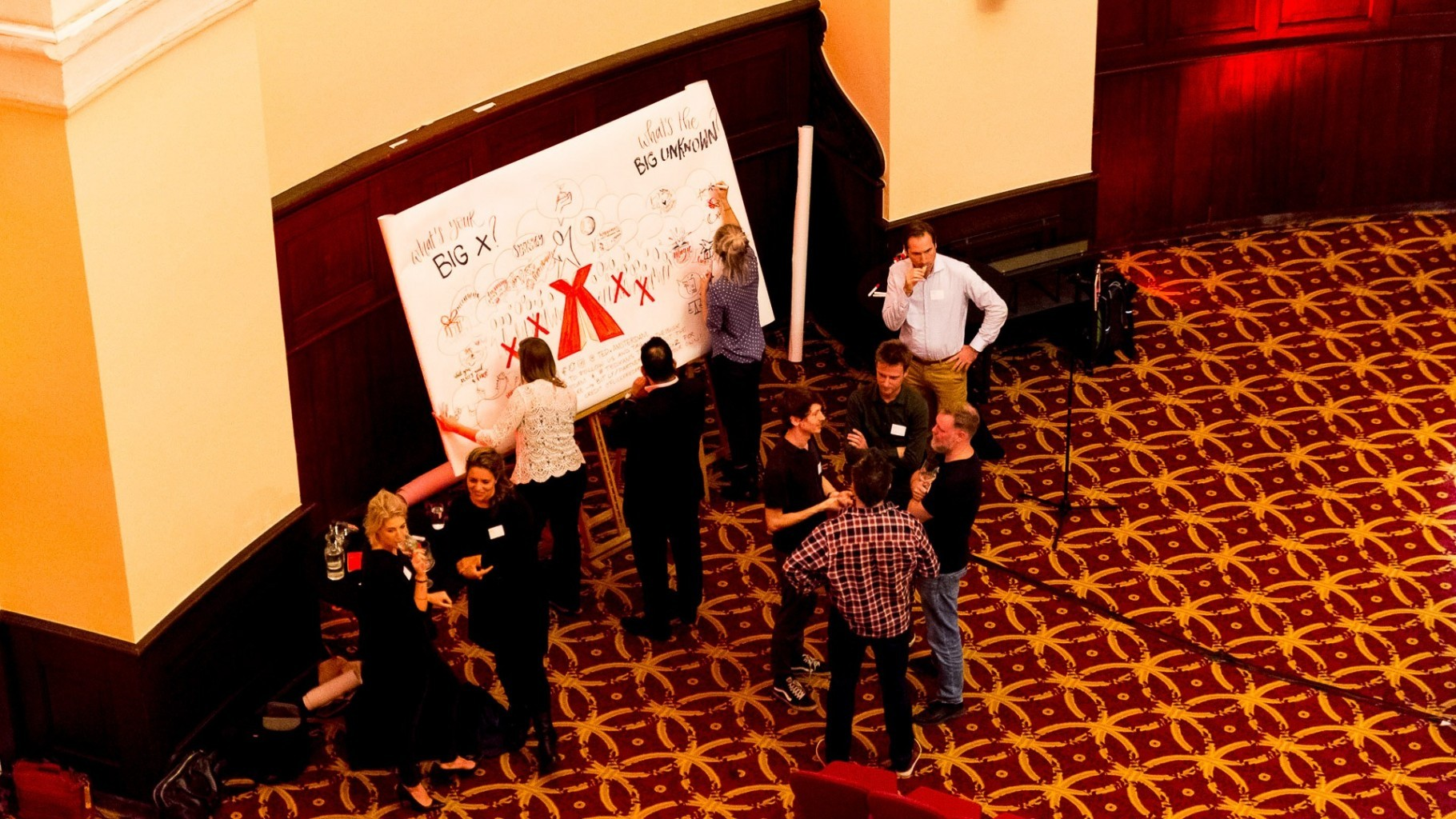 Event tedx visual visualizing illustrator