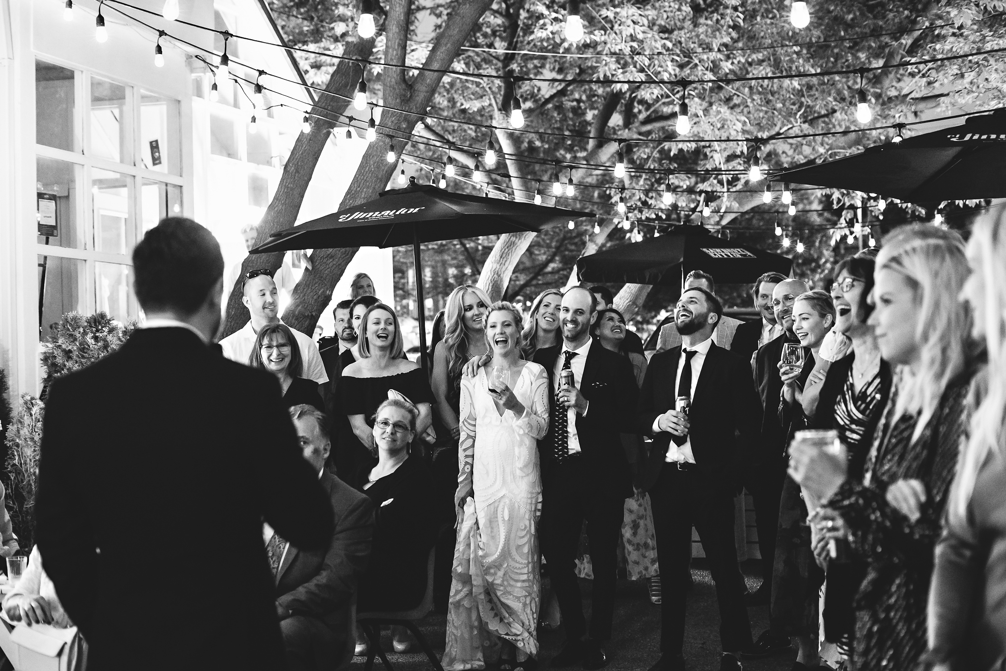 Bent Taco intimate wedding in Collingwood