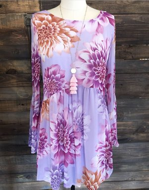 b9353b237e62b Floral Print Babydoll Dress