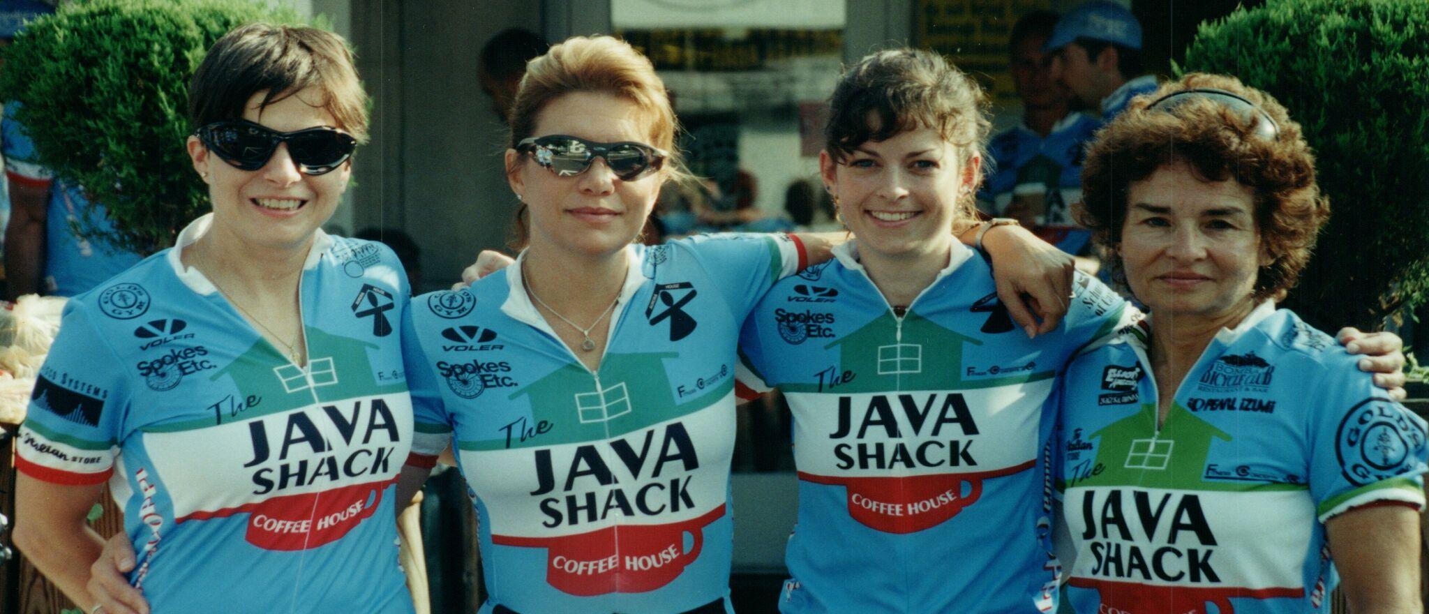1998 Womens team Carol Fonseca Lisa DiCarlo Kimberly Meyer Linda Chapman.jpg