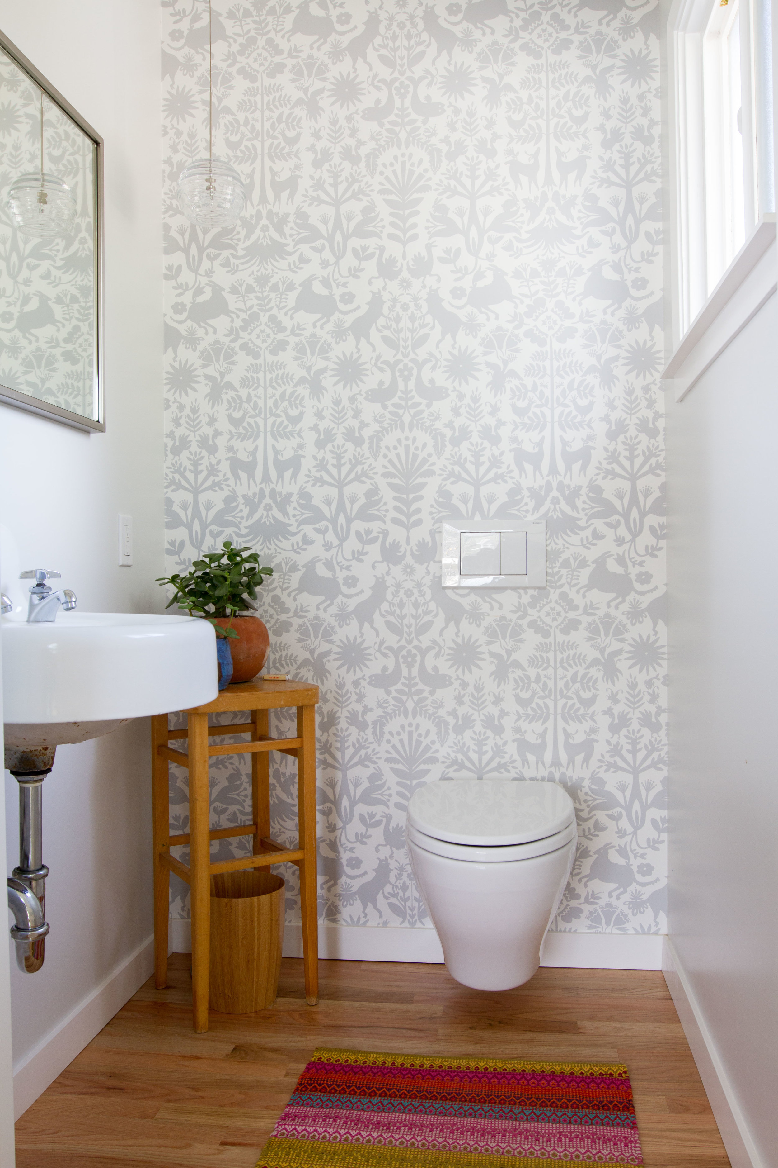 Modern Bathroom Hygge and West Wallpaper