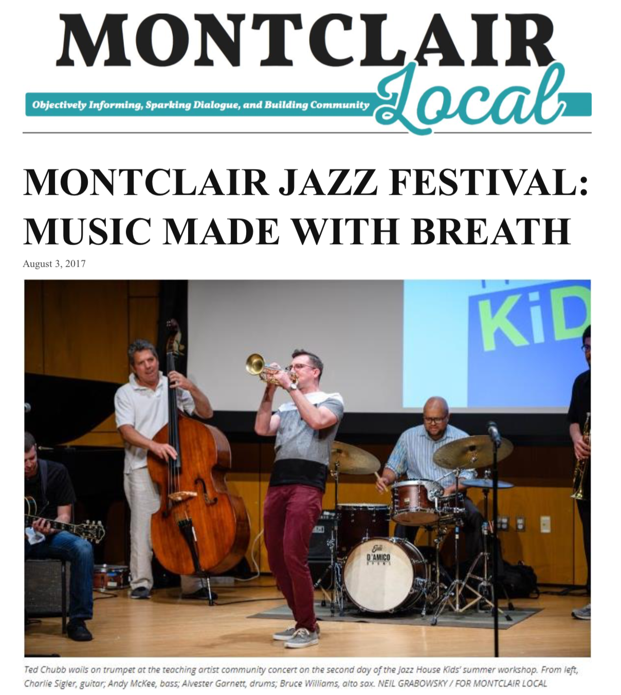 Montclair Local - August 2017