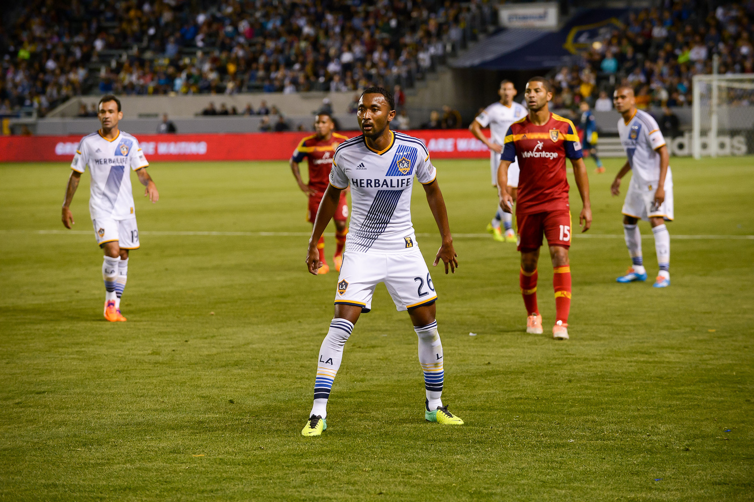 LA Galaxy v Real Salt Lake at StubHub Center on March 8, 2014. Photo by Mora/LA Galaxy.