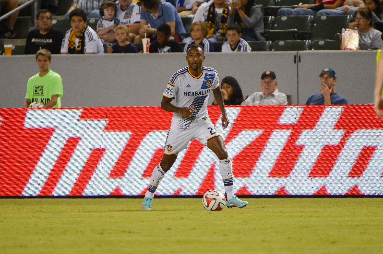LA Galaxy v Toronto FC at StubHub Center on October 4, 2014 in Carson, CA. Photo by Mora/LA Galaxy.