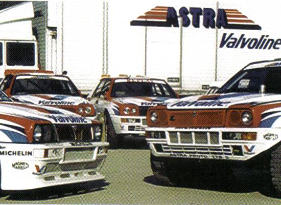 Astra Racing back in the Delta days