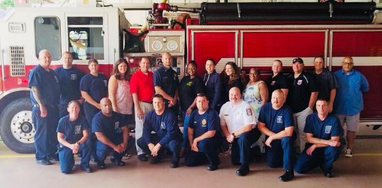Members of our Fort Belvoir, Joint Base Myer Henderson Hall, Chesterfield, Fort Myer, and Fairfax County Dispatch peer support teams!